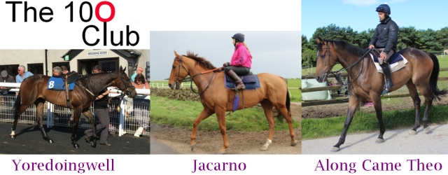 The 100 Club's trio of racehorses